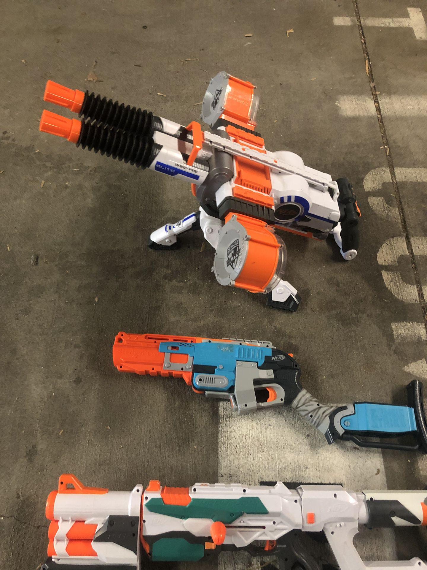 All 3 nerf guns for $30
