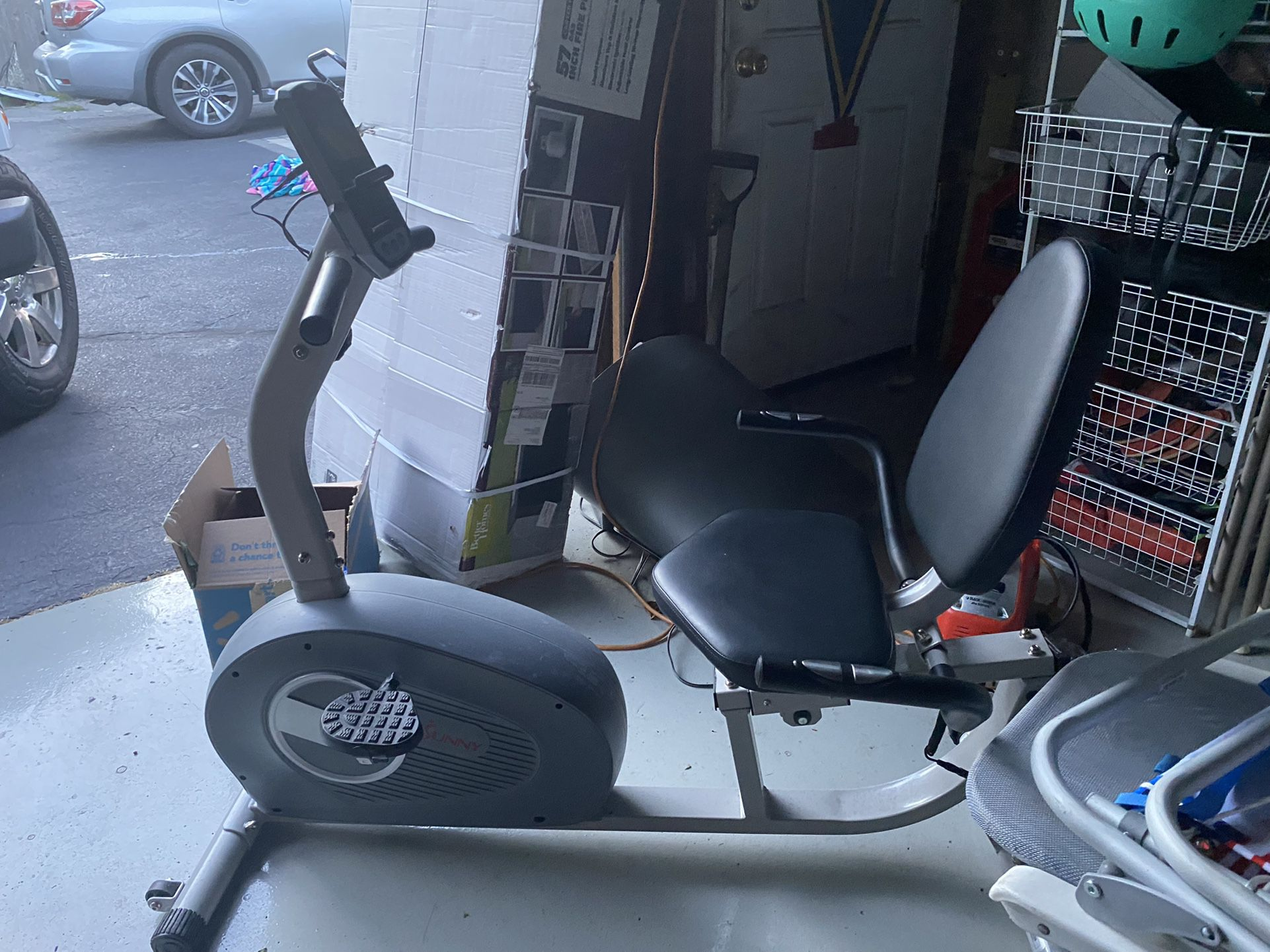 SUNNY exercise bike and elliptical