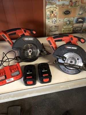 2 BLACK & DECKER CIRCULAR SAW for Sale in St. Louis, MO