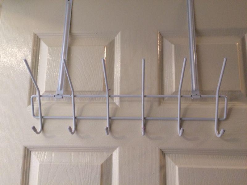 6 Hook over the door hanger