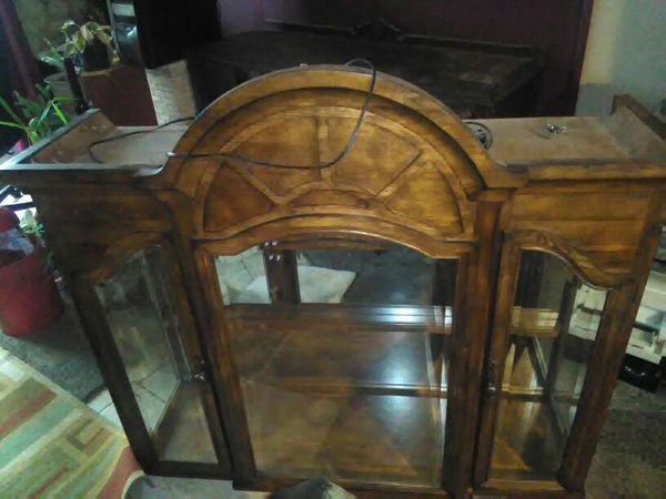 China Cabinet Top Only 52 Wide Long 50 Tall 14 Deep Collectibles In Lawrenceville Ga Offerup