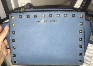 Michael Kors cornflower leather for Sale in Hialeah, FL