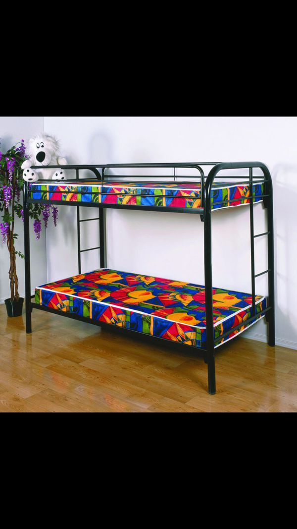 Brand New Twin Twin Bunk Bed In Box Furniture In Milwaukee Wi