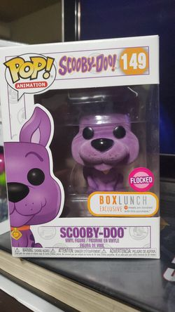 Scooby Doo Flocked BL Exclusive Thumbnail
