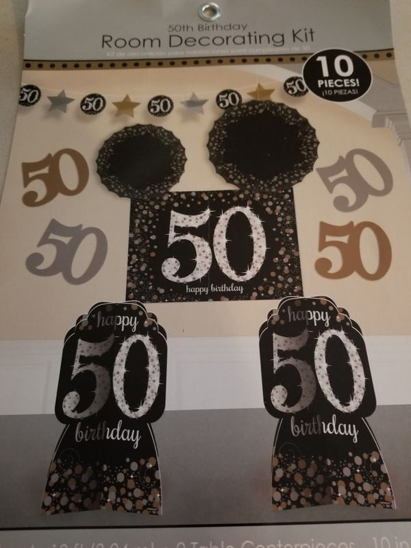 50th Birthday Wall Room Decoration Arts Crafts In Silver Spring MD