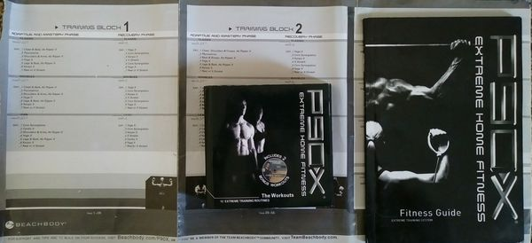 P90x Complete set with chart for Sale in Ontario, CA - OfferUp