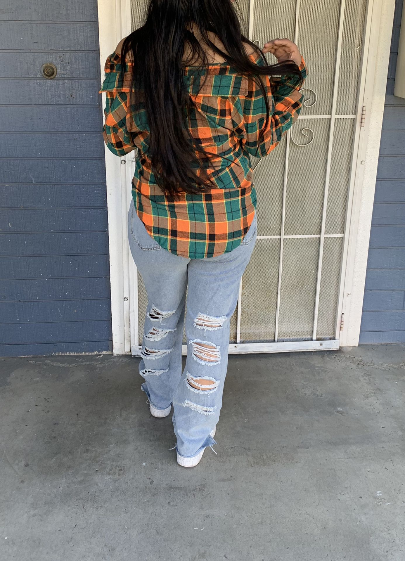 Flannel Brand New really cute Sizes Available Small, Medium and Large