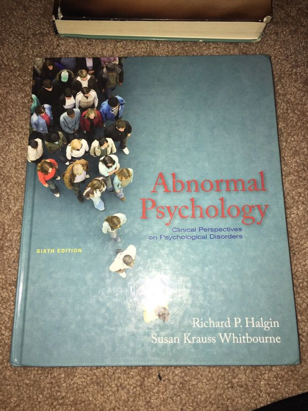 Amazon. Com: abnormal psychology: clinical perspectives on.