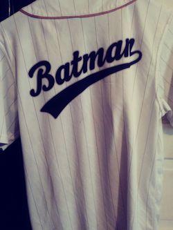 Marvel Brand Batman Jersey size medium adult Thumbnail
