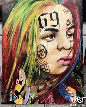 6ix9ine Painting for Sale in Annandale, VA