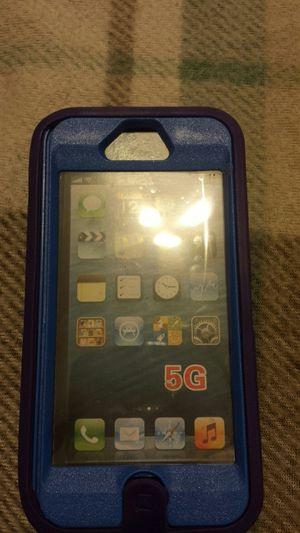 I phone 5g, 3pc soft and hard rubber case, purple\blue for Sale in Murfreesboro, TN