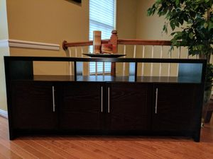 TV stand / Entertainment console for Sale in Fairfax, VA