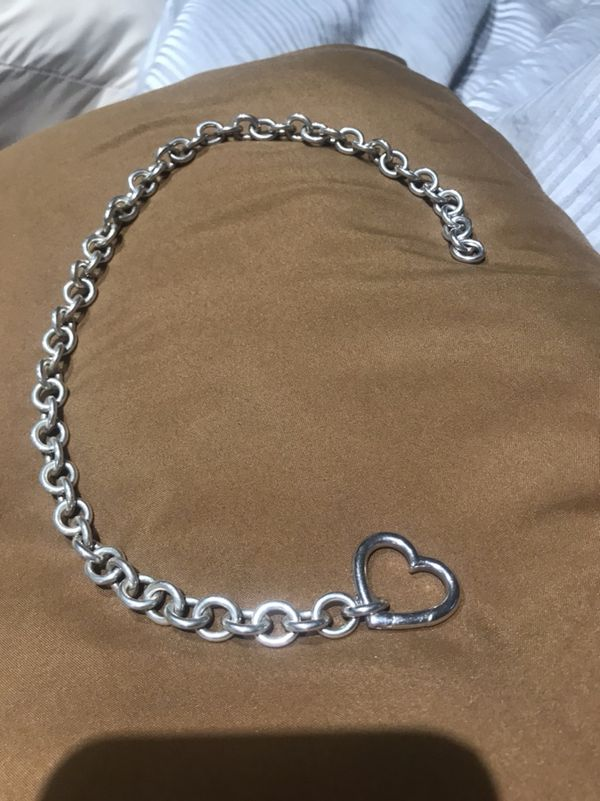 Tiffany Heat Necklace Sterling Silver Jewelry Accessories In Boca Raton Fl Offerup