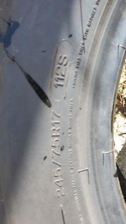 MICHELIN 245/75R17 Tires Thumbnail