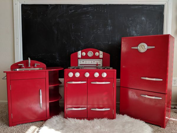 Pottery Barn retro play kitchen for Sale in North Las Vegas, NV - OfferUp