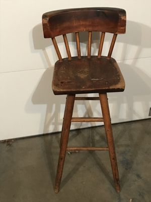 Antique Wooden Stool for Sale in St. Louis, MO