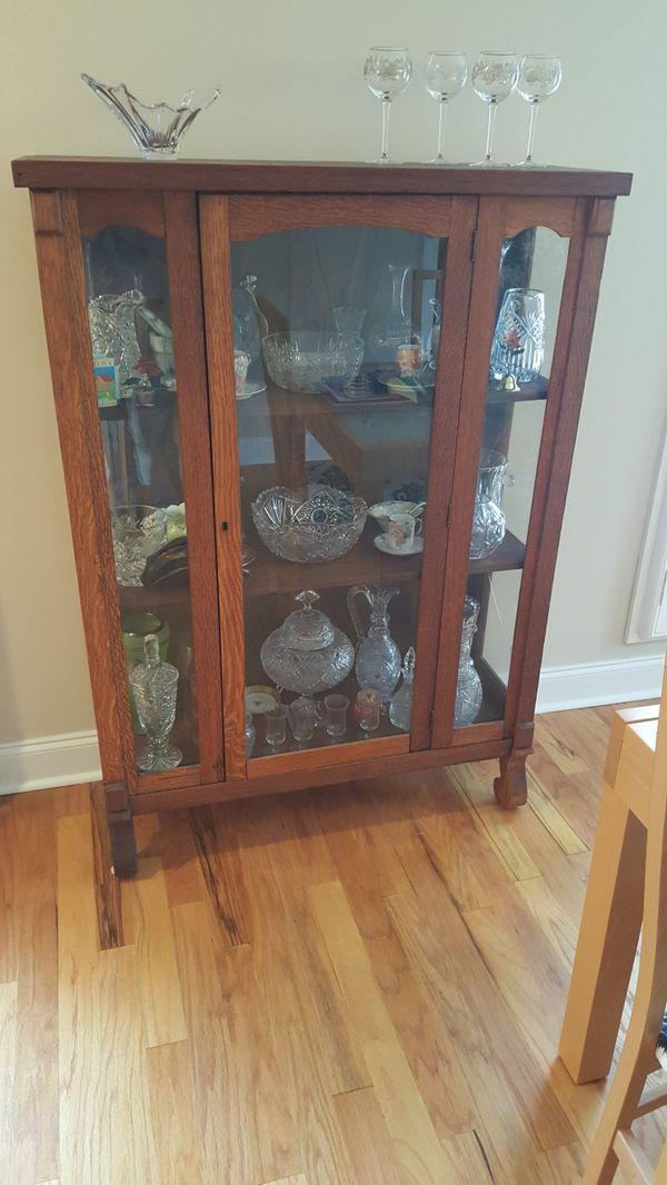 - Antique Curio Cabinet (Antiques) In Atlanta, GA - OfferUp
