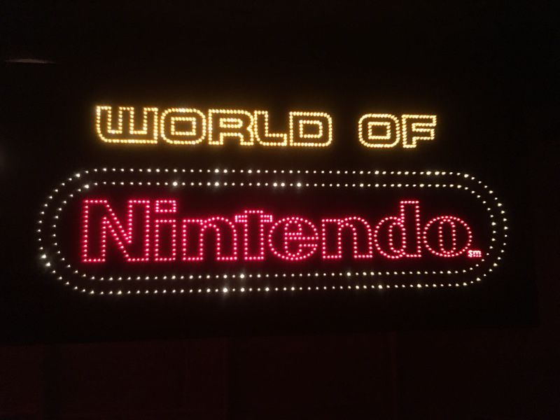 SUPER RARE ANIMATED FIBEROPTIC KAY-BEE TOYS/WORLD OF NINTENDO SIGN! MODEL M36C! KB TOYS, NES VIDEO GAMES! COLLECTIBLE! TOYS R US/KIDDIE CITY RIVAL!