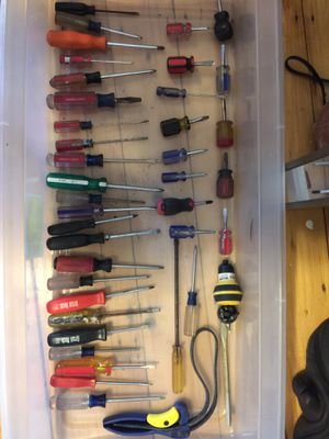 40 Piece Assorted Tools for Sale in Peabody, MA