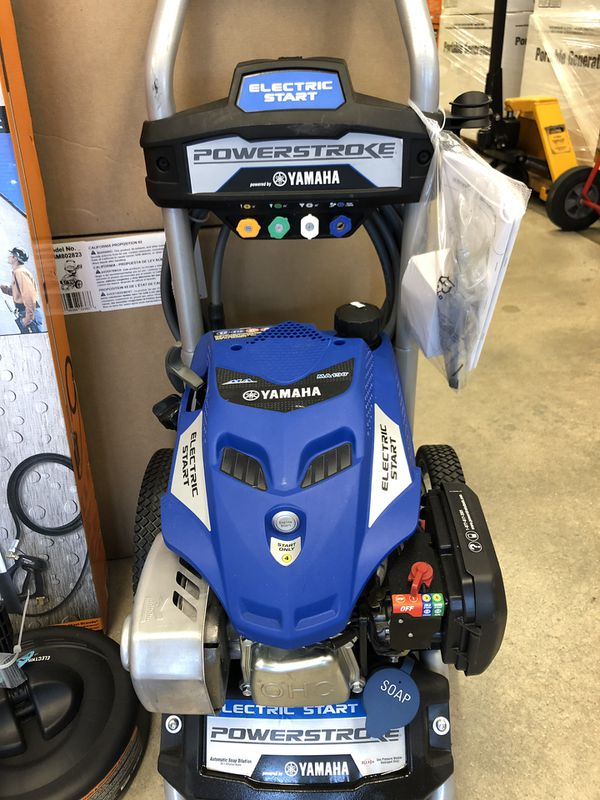 price dropped   3100 psi yamaha pressure washer for sale
