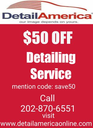Detailing Service for Sale in Silver Spring, MD