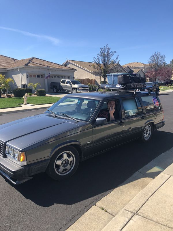 Volvo 740 Turbo Wagon 4 Speed Manual For Sale In Vacaville Ca Offerup