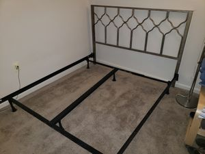 Bed frame and headbord for Sale in Hyattsville, MD