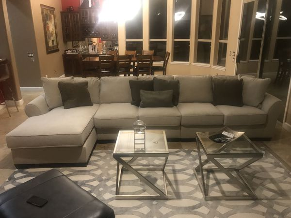 Wilcot 4 Piece Sofa Sectional Price Drop For Sale In Scottsdale