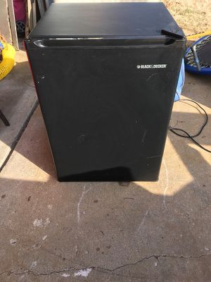 "Used, Black and decker 27"" mini fridge for sale  Tulsa, OK"