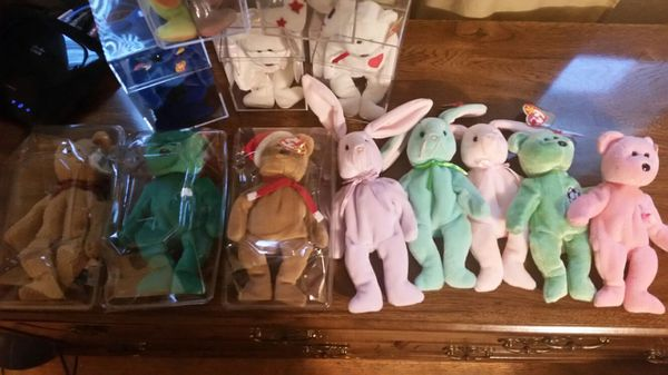 b80ac771cd9 RARE TY beanie babies and 100+ common for Sale in Salem