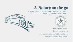 Mobile Notary for Sale in Houston, TX