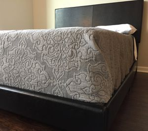 New Black Queen Bed for Sale in Chevy Chase, MD