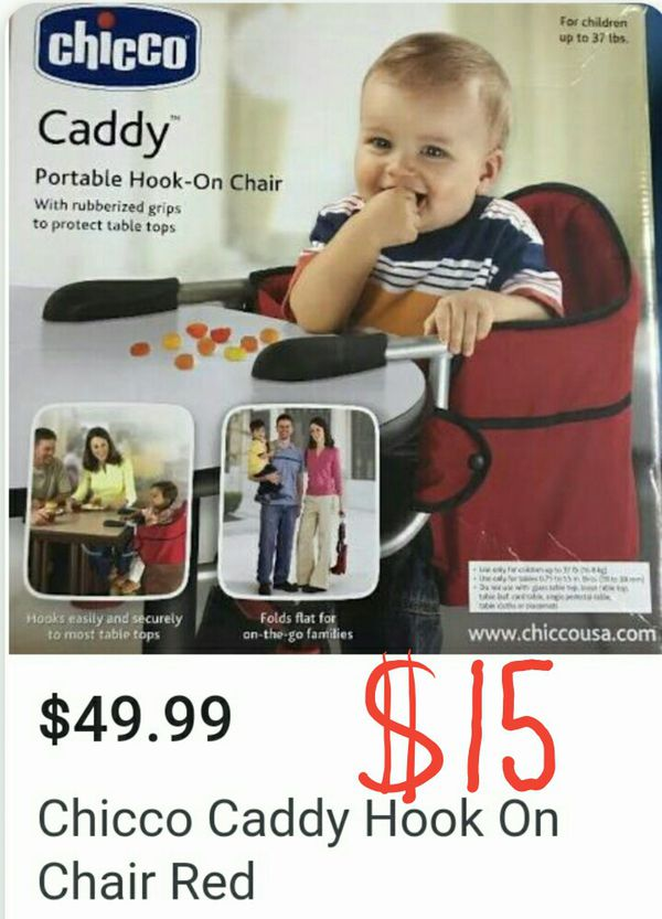 f03473ac30e06 Chicco caddy portable hook on chair for Sale in Westminster