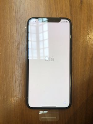iPhone X 64GB Brand New Black Unlocked (Not Sealed) for Sale in District Heights, MD