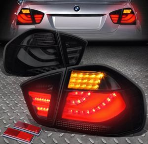 2005~08 BMW E90 3D LED STREAK smoked Tail Lights 🚚🚚 for Sale in Montebello, CA