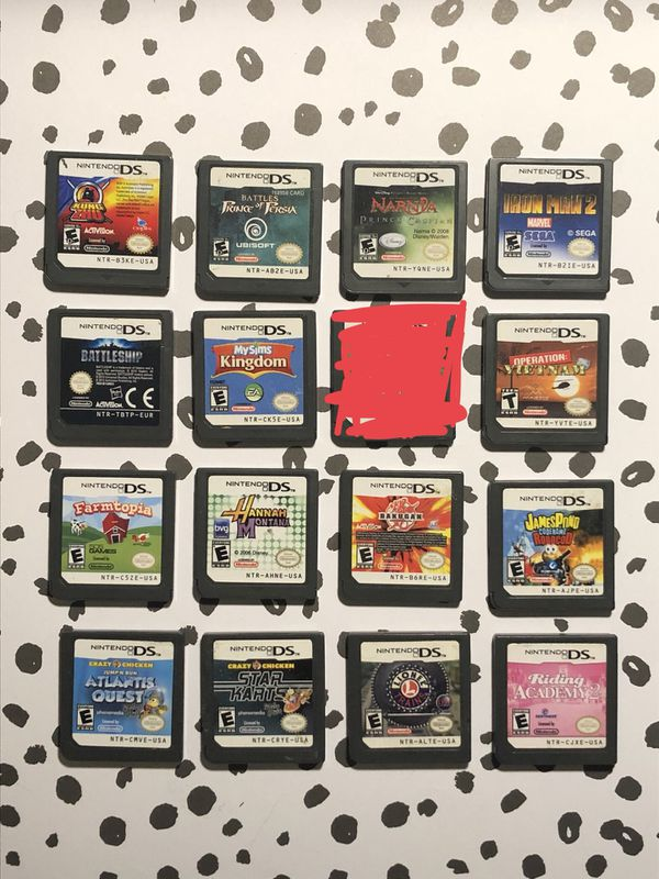 d7ef5cb7ef2 Giant Lot of 16 Nintendo DS Game Cartridges - Tested   Working! for ...