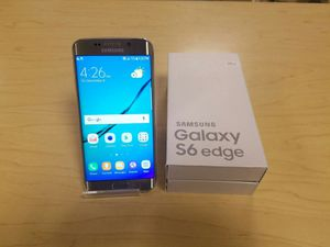 Samsung Galaxy S6 edge   Factory Unlocked + box and accessories + 30 day warranty for Sale in Washington, DC