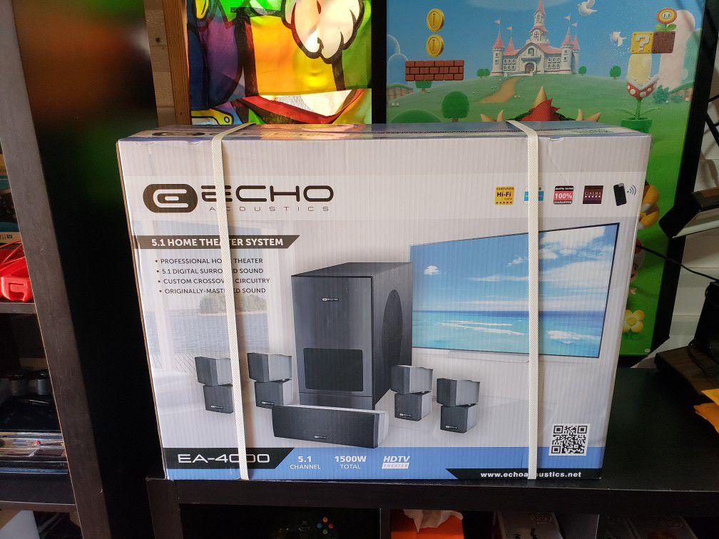 Echo acoustics home theater ea-4000