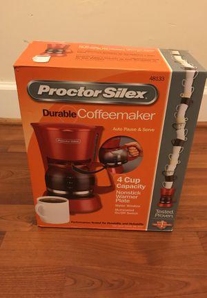 Proctor Silex coffeemaker for Sale in Reston, VA
