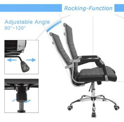 Brand New Contemporary Designer Mid-Back Computer Office Chair Thumbnail