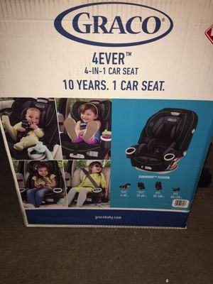 Graco 4 In 1 Car Seat Msrp 299 Asking 250 200 For Sale