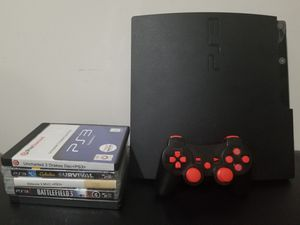 PS3 120GB slim for Sale in Chevy Chase, MD