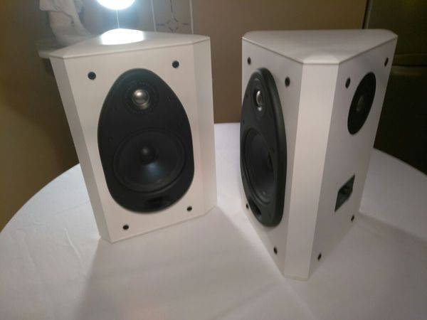 Polk Audio Home Theater Corner Speakers Fx500i Pair For In Jensen Beach Fl Offerup