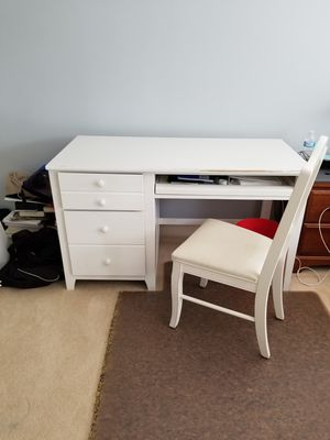 Solid Wood desk and chair for Sale in North Potomac, MD