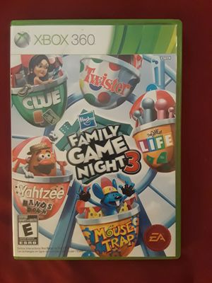 XBOX 360 - FAMILY GAME NIGHT 3 for Sale in McDonough, GA