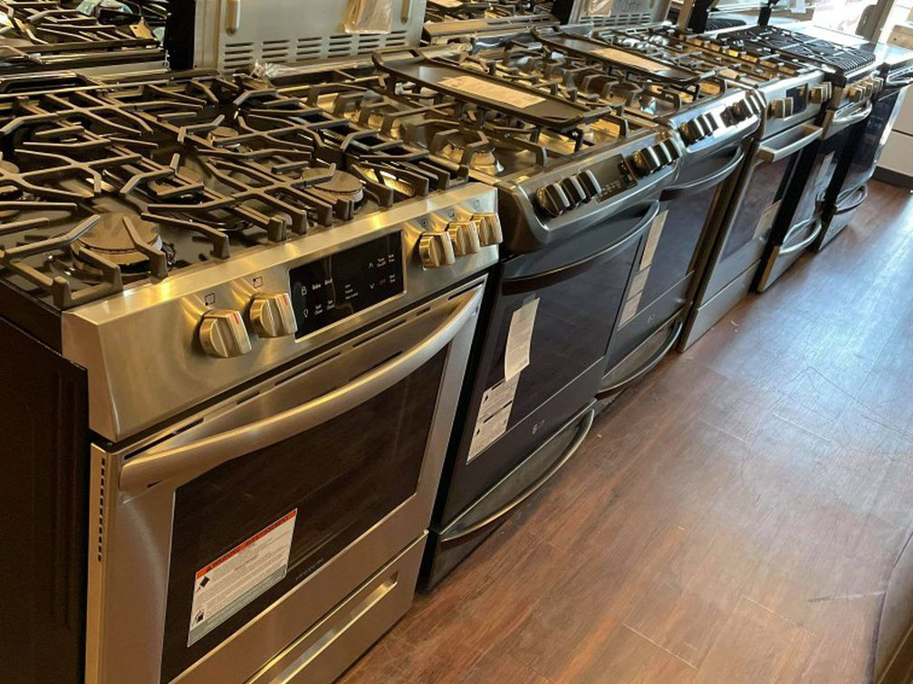 Washer Dryer Refrigerators And Stoves Open Box. Ask For Prices