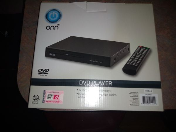 ONN DVD PLAYER DVD REMOTE INCLUDED for Sale in Charlotte, NC - OfferUp