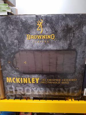 Browning sleeping bag McKinley for Sale in Atlanta, GA