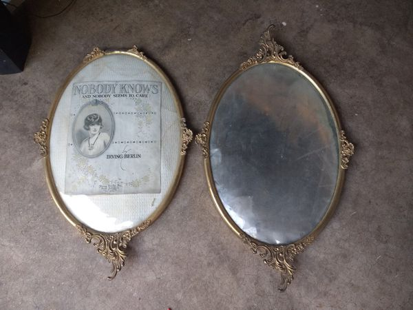 Antique Curved Glass Picture Frames (Antiques) in Tempe, AZ - OfferUp