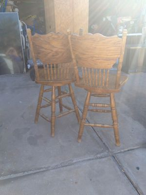 Bar stools both as package for Sale in Peoria, AZ